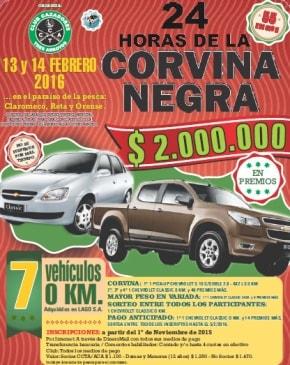 24 Hs de la Corvina Negra - 13 y 14 de Febrero de 2016